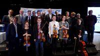 La lutherie à Mirecourt (Vosges) rayonne à travers six jeunes musiciens