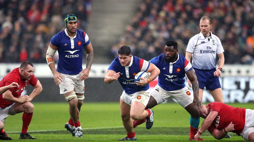 Julien Marchand s'est gravement blessé au genou gauche contre le Pays de Galles.