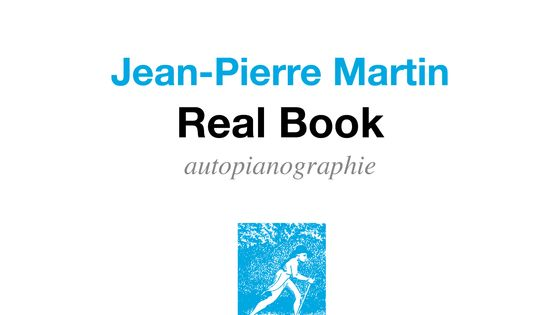 "Couverture ""Real Book"" de Jean-Pierr Martin"