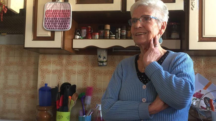 Mamie Paulette, 79 ans, à Fontenay-le-Comte le 19 février.