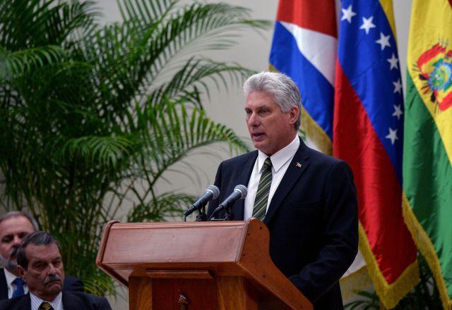 Miguel Diaz-Canel, le nouveau président cubain le 14 décembre 2018