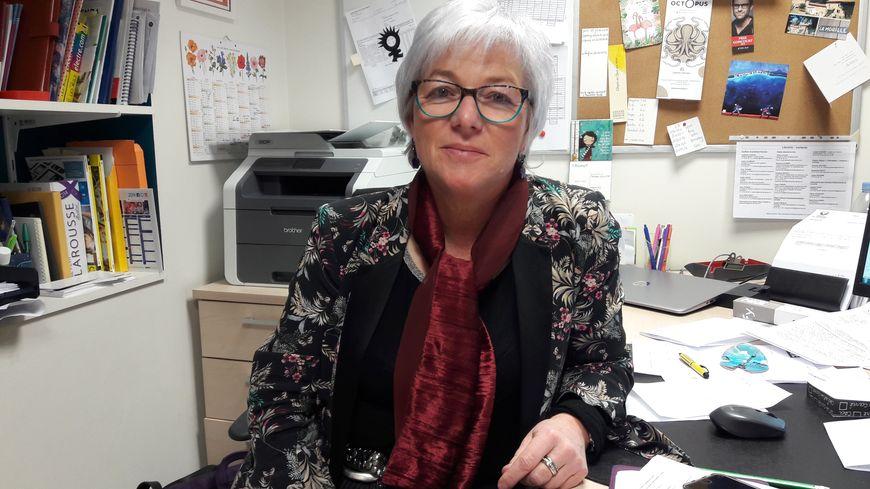 """Isabelle Colin, gérante de la librairie indépendante """"Le quai des Mots"""" à Epinal"""
