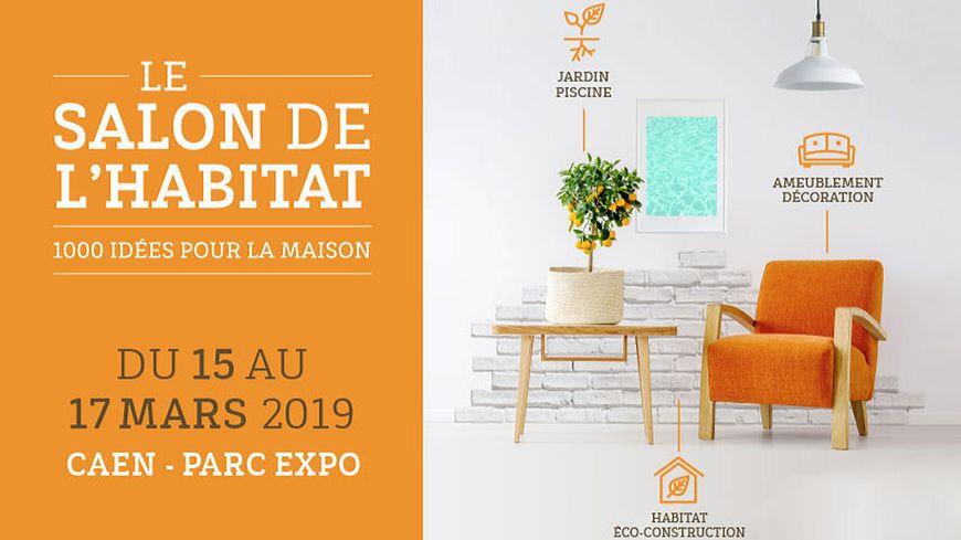 Affiche du Salon de l'Habitat 2019 à Caen