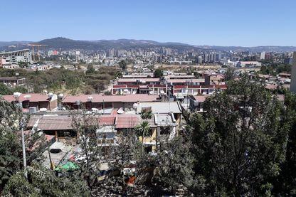 Vue d'Addis-Abeba, la capitale éthiopienne