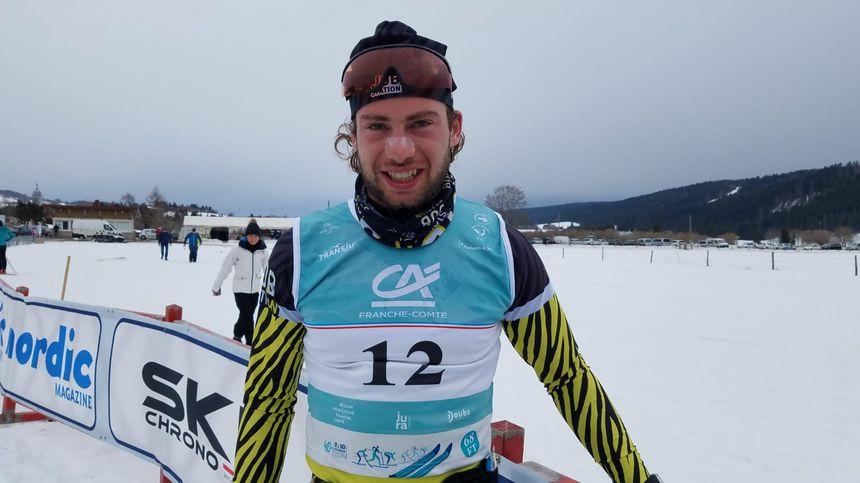 Nicolas Berthet, premier Franc-Comtois au classement de la Transju 2019.