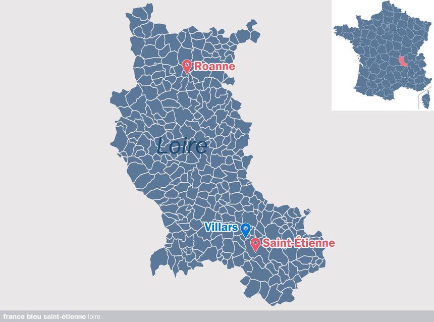 Villars, dans la Loire