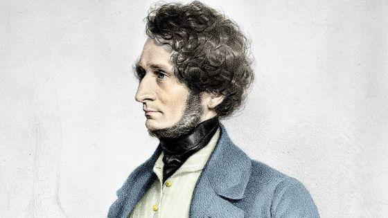Portrait d'Hector Berlioz (1803-1869)