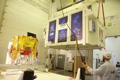 Bereshit – la Genèse, en hébreu – est attendu sur la surface lunaire dès le 11 avril. Le véhicule devrait décoller ce soir dans une fusée SpaceX.