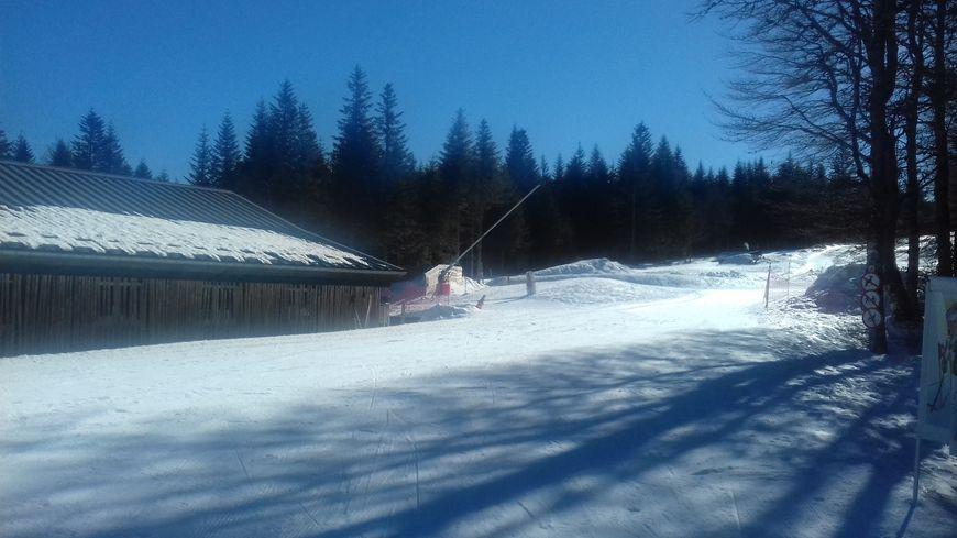 Le départ des pistes de ski nordique