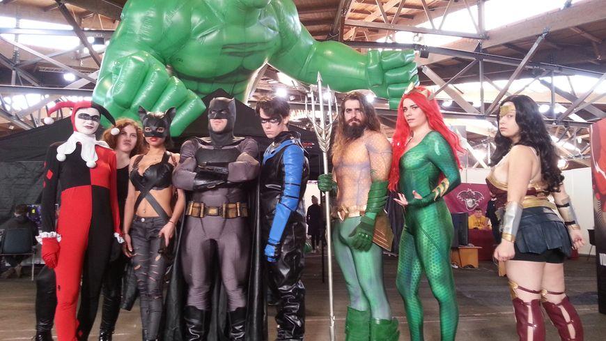 EN IMAGES : des milliers de Batman et Spiderman au Poitiers Geek Festival
