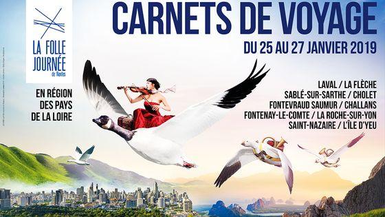 Affiche Folle Journée de Nantes 2019 (détail)
