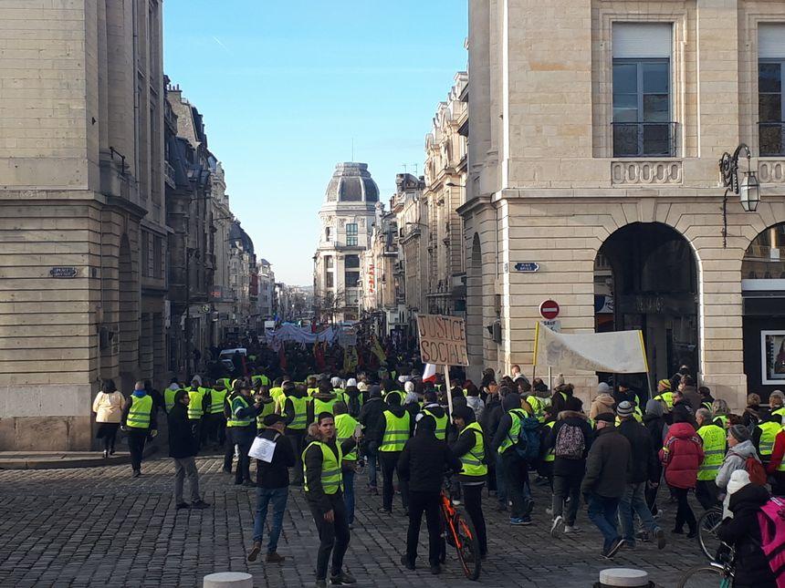 L'une des plus importantes manifestations de ces dernières semaines à Reims