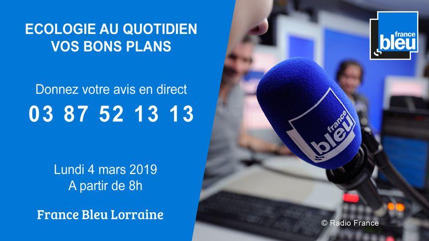 France Bleu Lorraine ouvre le débat sur l'écologie