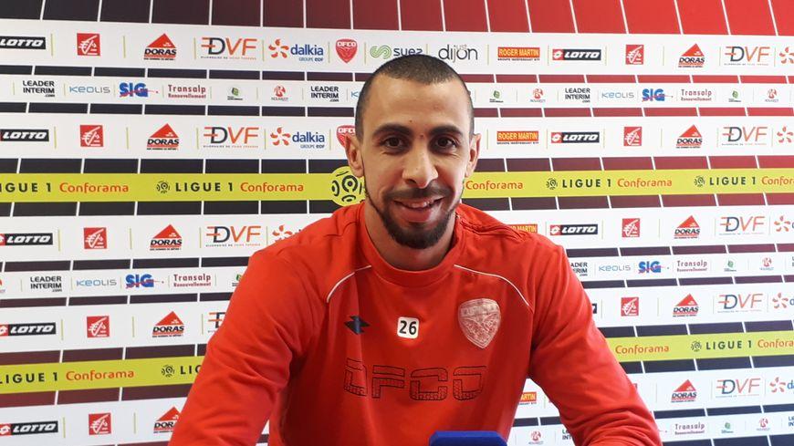 Fouad Chafik lors de la conférence de presse avant PSG-Dijon