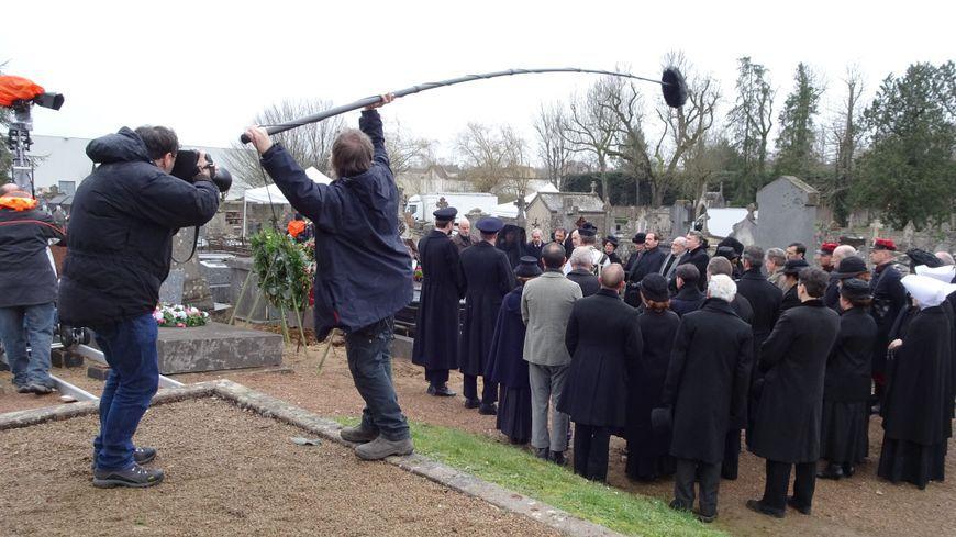 """Une équipe télévision a tourné le téléfilm """"La Révolte des innocents"""" en février 2018 à Avallon."""