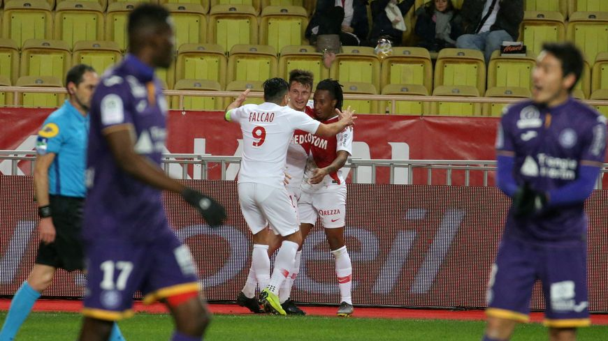 L'AS Monaco recevait le FC Toulouse lors de la 23e journée de Ligue 1