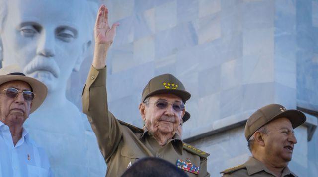 Raoul Castro le 2 janvier 2017