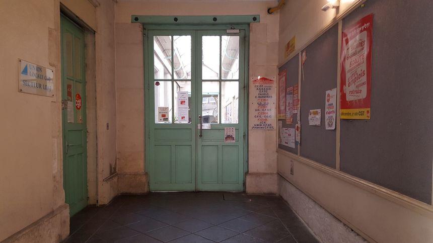 La Maison des syndicats accueille de nombreuses organisations.