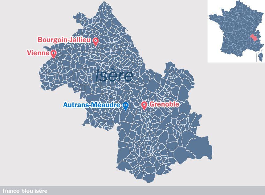 Autrans-Méaudre, en Isère