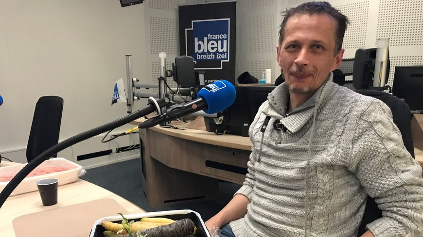 Patrice CABIOCHE, chef du restaurant du Guillec de Plouzévédé