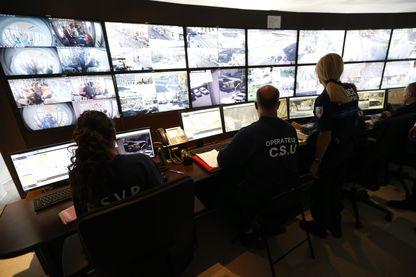 Centre de vidéosurveillance de la ville de Nice