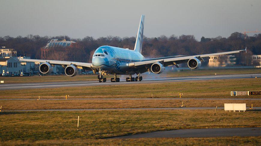 L'A380 déguisé en tortue !