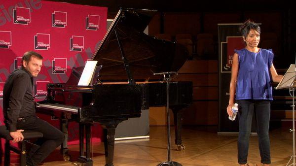 """Magali Léger et Rémy Cardinale interprètent """"Chevaux de bois"""" de Debussy et """"Violon"""" de Poulenc"""