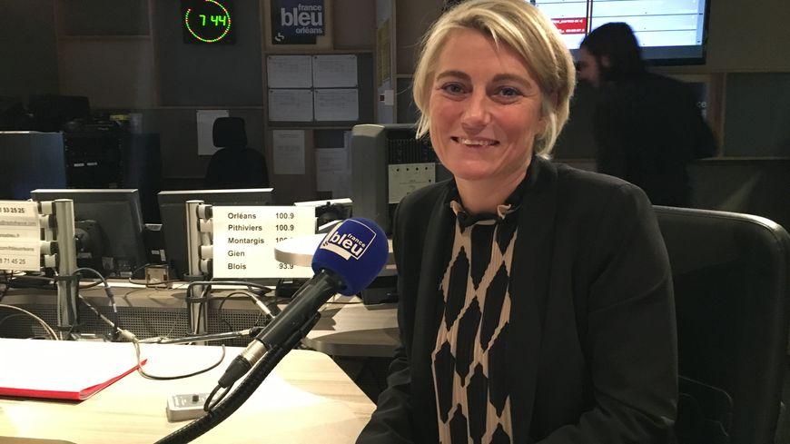 Stéphanie Rist, invitée de France Bleu Orléans ce matin