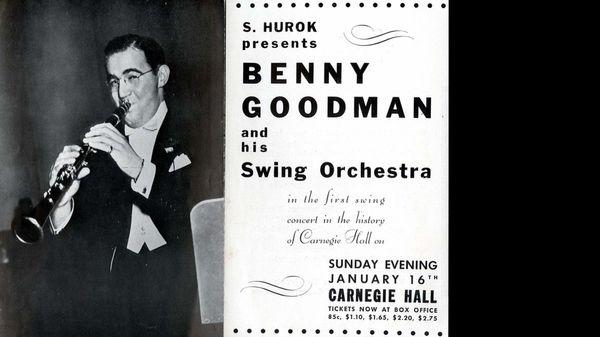 Jazz au Trésor : Benny Goodman - At Carnegie Hall,1938