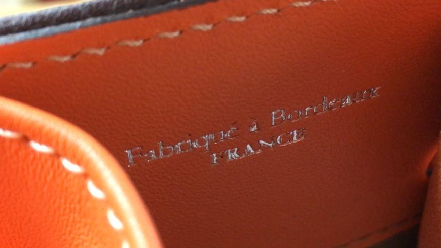 Des sacs fabriqués à Bordeaux
