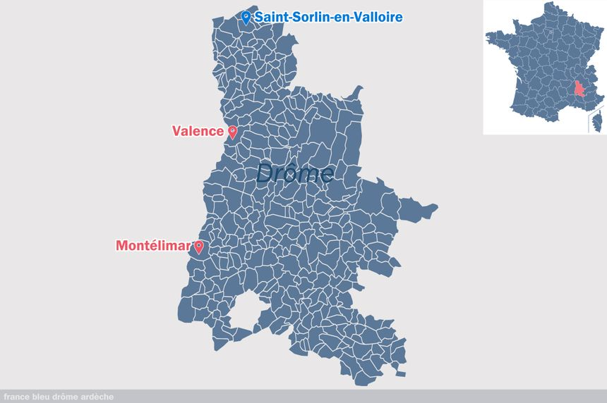 Saint-Sorlin-en-Valloire, dans la Drôme
