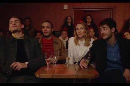 Johann Cuny, Moustapha Benaibout, Pauline Clement et Bertrand Usclat du collectif Yes Vous Aime