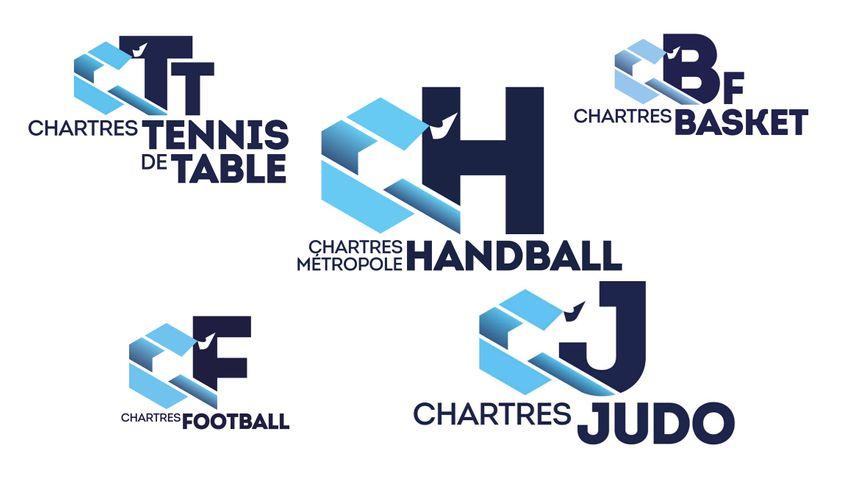 Chartres a rassemblé ses principaux clubs sous une même marque