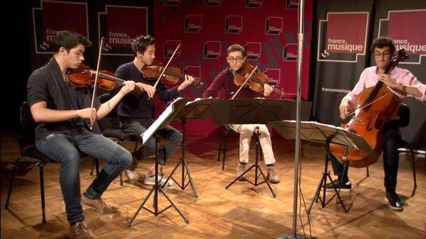 Carl Nielsen | Quatuor à cordes n°1 op. 13 par le Quatuor Arod