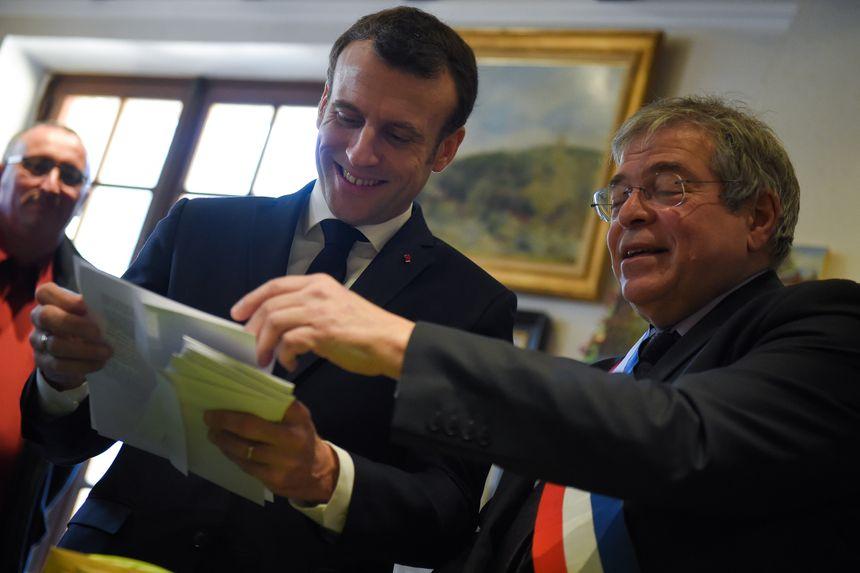 Le maire de Gargilesse a confié à Emmanuel Macron les doléances qu'il a reçues