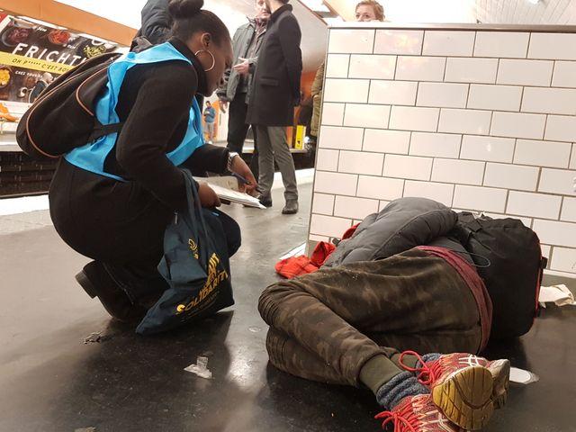 Jusqu'au 5 mars, le recueil social de la RATP met à disposition un hébergement d'urgence ouvert à 90personnes sans abri, à Porte de Choisy.