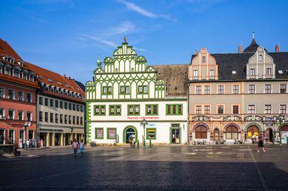 Place de la ville de Weimar