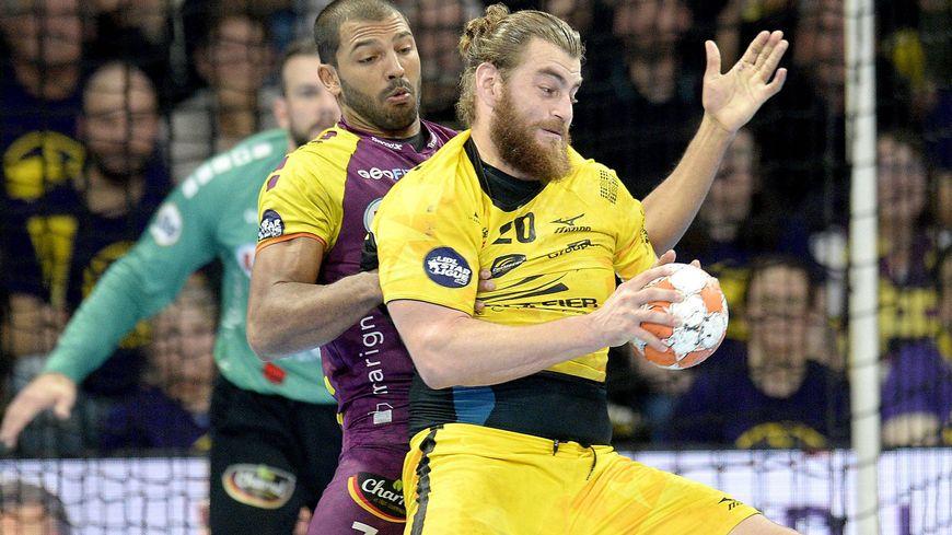 Nantes-Chambéry en championnat en novembre 2018