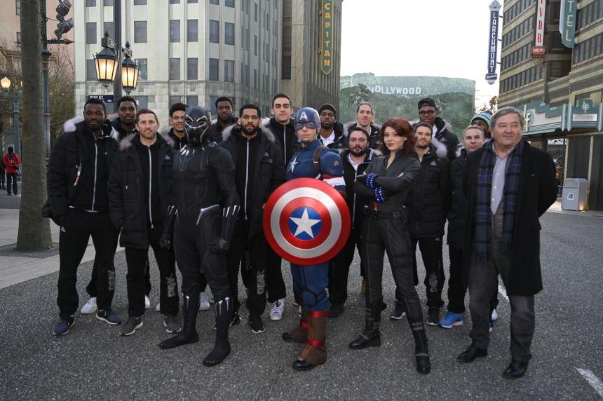 Les Avengers au grand complet !