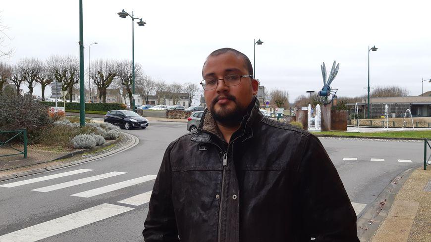 Bernardo, exilé politique, vit à Saint-Junien depuis mai 2018