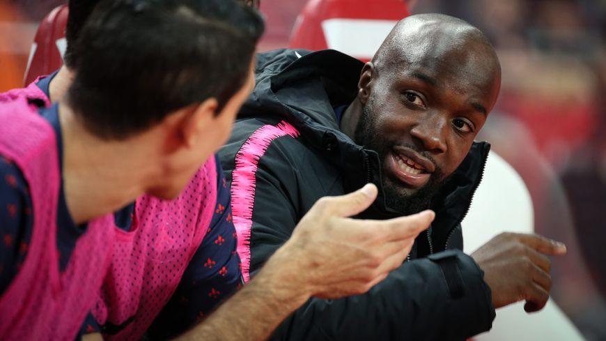 Lassana Diarra lors du match Monaco - PSG de la 13ème journée de L1, le 11 novembre 2018