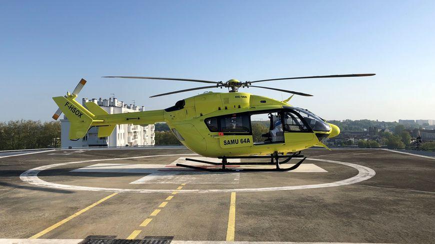 L'hélicoptère EC 145 du Samu 64 a subi un incident très rare en intervention, heureusement sans faire de victimes
