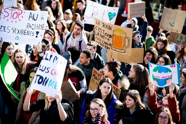 C'est l'une des mobilisation les plus dynamiques : les jeunes belges se bougent pour le climat !