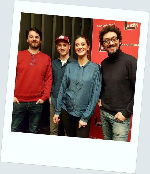 Remi Bezançon, Hugo Clément, Agathe Ruga et David Foenkinos