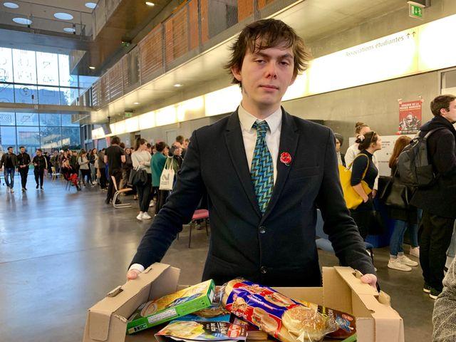 Paul, 25 euros par mois pour se nourrir