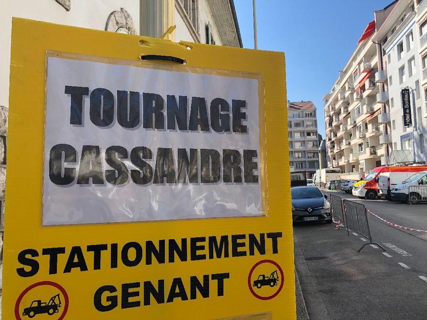 """La 4e saison de """"Cassandre"""" (France 3) est actuellement en cours de tournage à Annecy."""