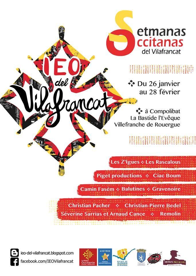 Affiche des Setmanas Occitanas del Vilafrancat