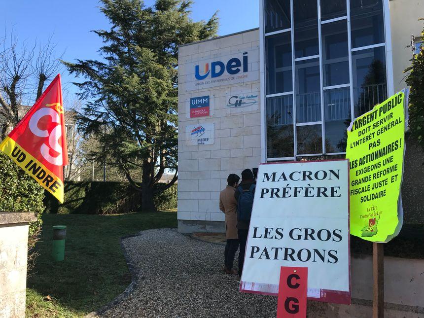 Locaux de UDEI à Châteauroux
