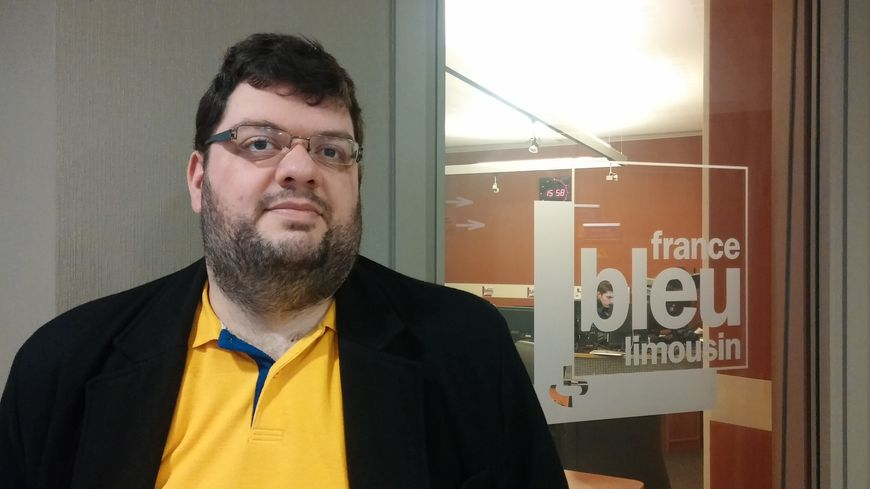 Christophe Louot, de l'Association SOS Homophobie en Limousin