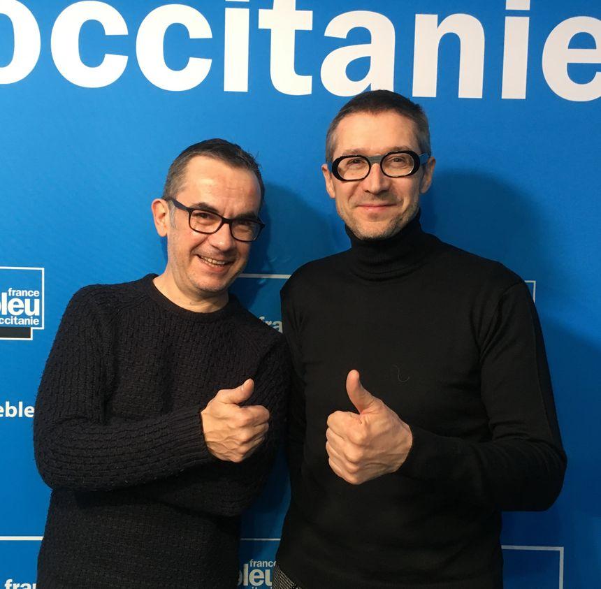 Franck Langlois et Paul Jarcamne.